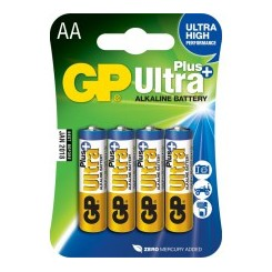 Batteri AA GP PLUS ULTRA HIGH 4 STK